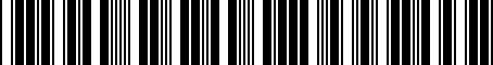 Barcode for 8W0064317D
